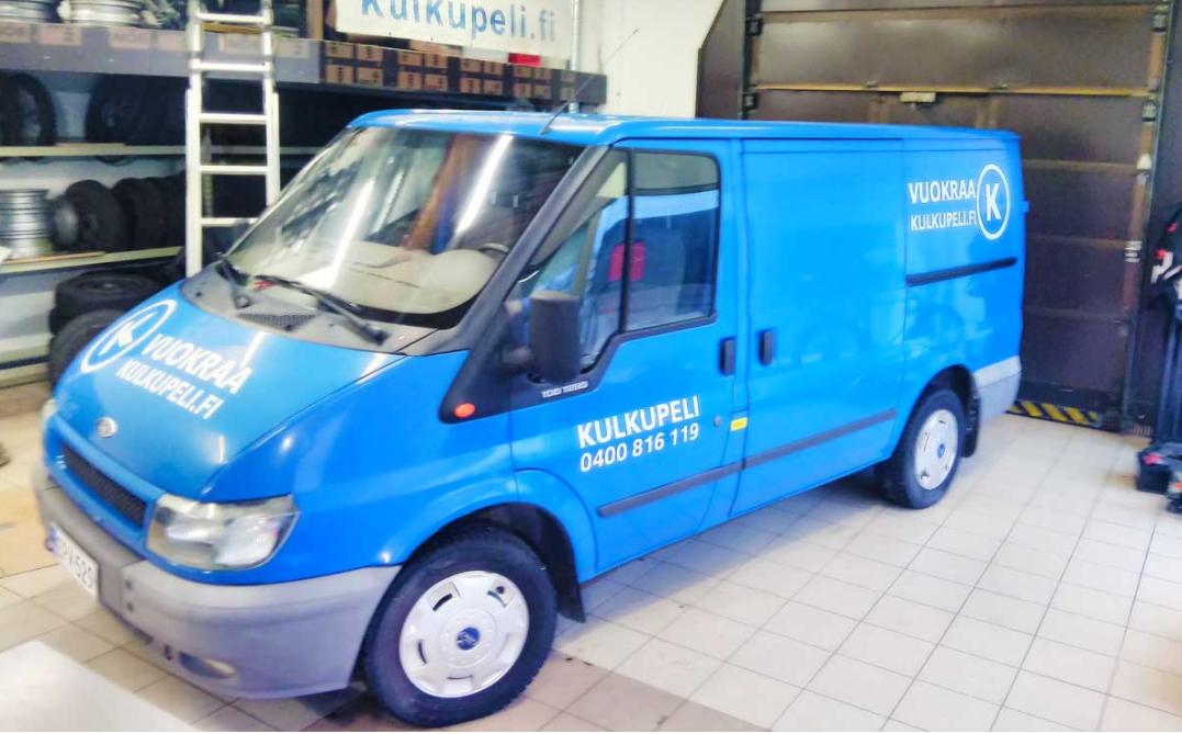Pakettiauto, Ford Transit, EPV-529