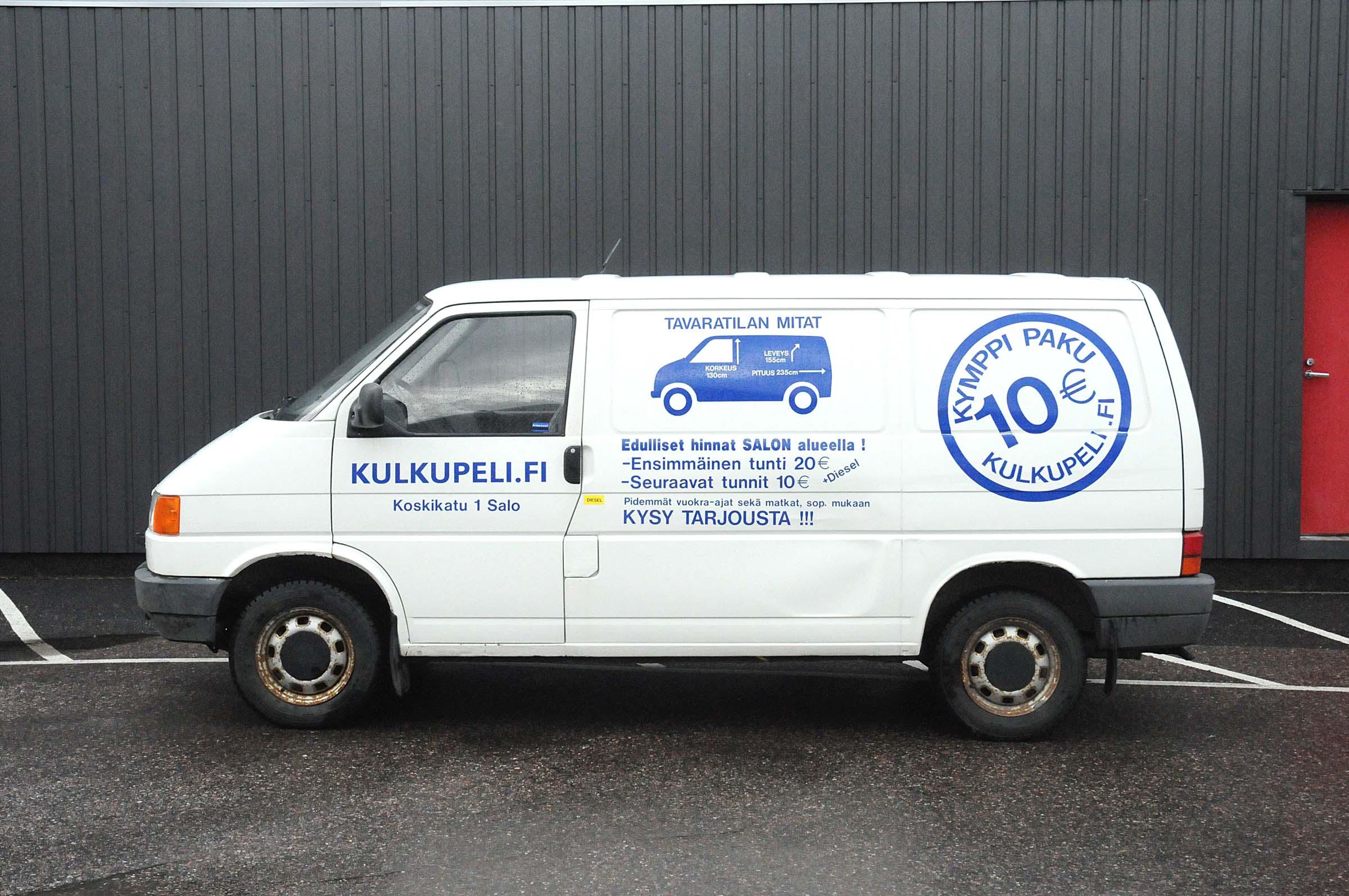 Kymppipaku, Wolgsvagen Transporter, JBN-617