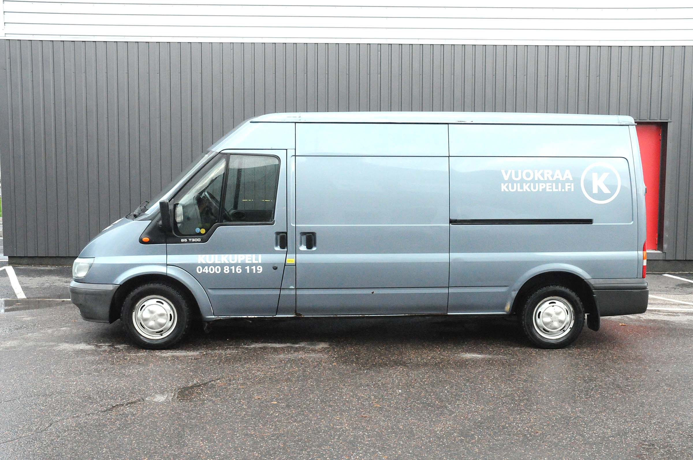 Iso Pakettiauto, Ford Transit, KBY-548