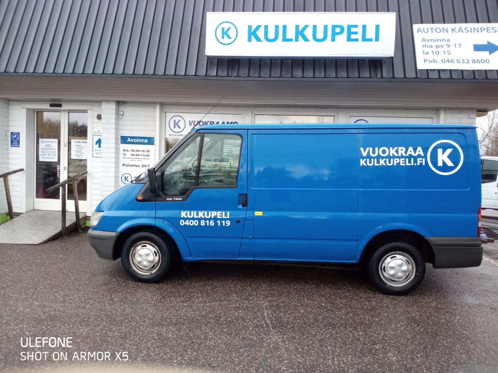 Pakettiauto, Ford Transit, VKI-122